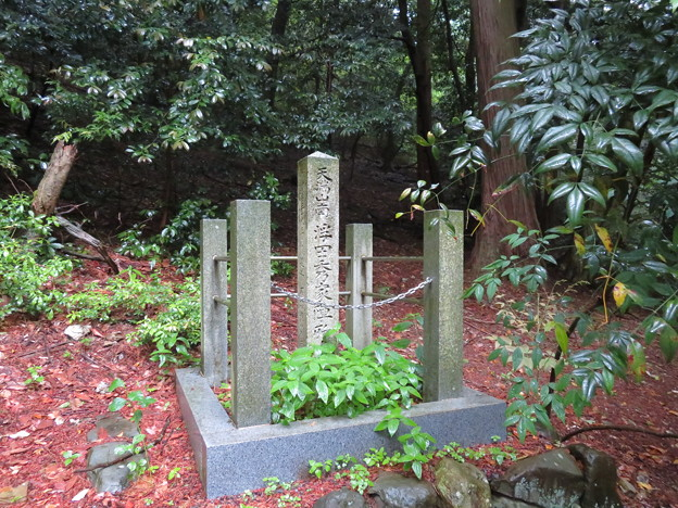 Photos: 関ヶ原合戦 宇喜田秀家陣跡(関ケ原町)天満社