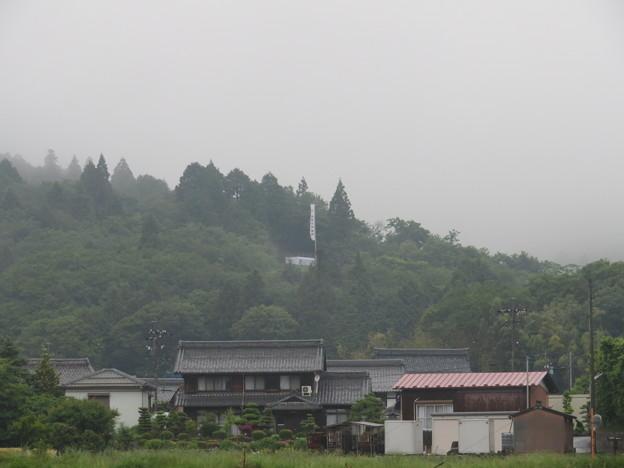 関ヶ原合戦 小西行長陣跡(関ケ原町)より笹尾山