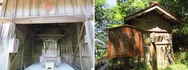 関ヶ原合戦 岡山陣跡(関ケ原町)金刀比羅神社