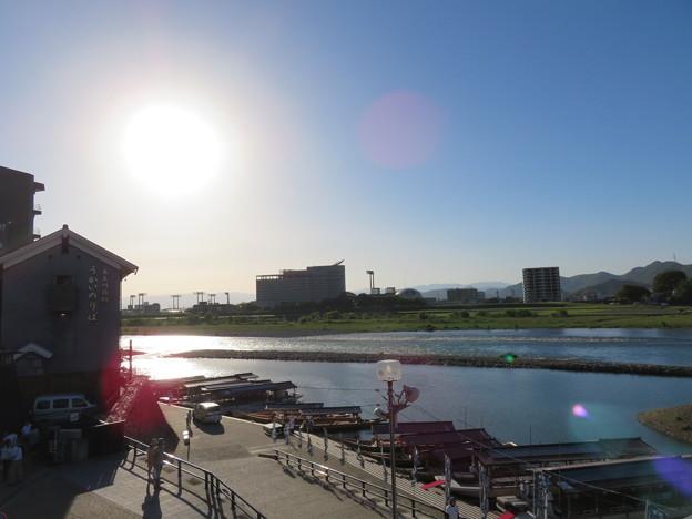 長良橋(岐阜市)南河岸