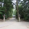 写真: 雄山神社 前立社殿(立山町岩峅寺1)表神門