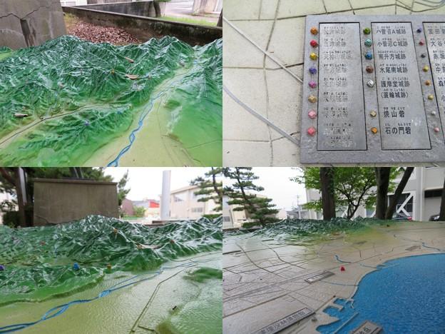 Photos: 魚津城(魚津市立小学校)