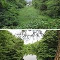 Photos: 高岡城(高岡市。高岡古城県定公園)二の丸・本丸間水堀