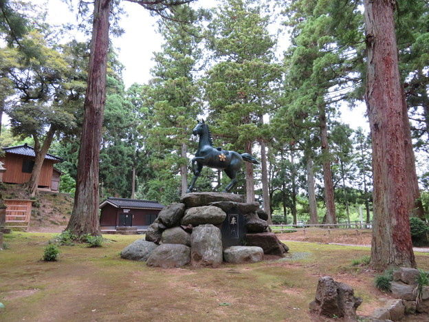 気多神社(高岡市伏木一宮)神馬