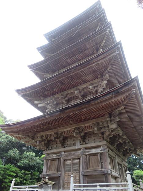 妙成寺(羽咋市)五重塔