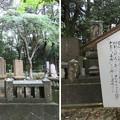 写真: 妙成寺(羽咋市)北前船豪商 西村屋忠兵衛墓