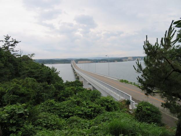能登島大橋(七尾市)北詰