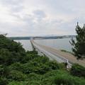 写真: 能登島大橋(七尾市)北詰