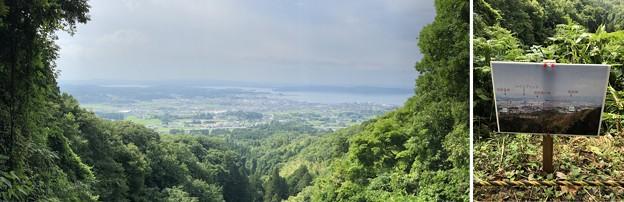七尾城(石川県)袴腰より