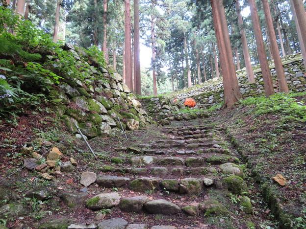 七尾城(石川県)調度丸北桝形