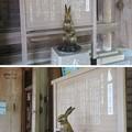 写真: 高瀬神社(南砺市)撫で兎