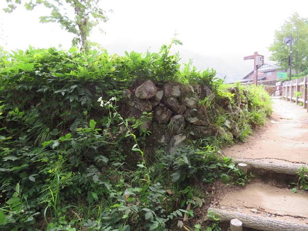 Photos: 荻町城(岐阜県大野郡)空堀・土塁石垣