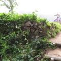 荻町城(岐阜県大野郡)空堀・土塁石垣