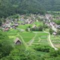 写真: 白川郷 天守閣展望台(白川村)