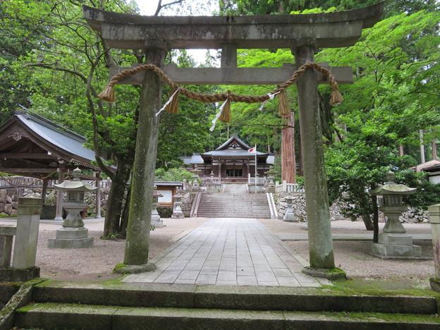 気多若宮神社(飛騨市)
