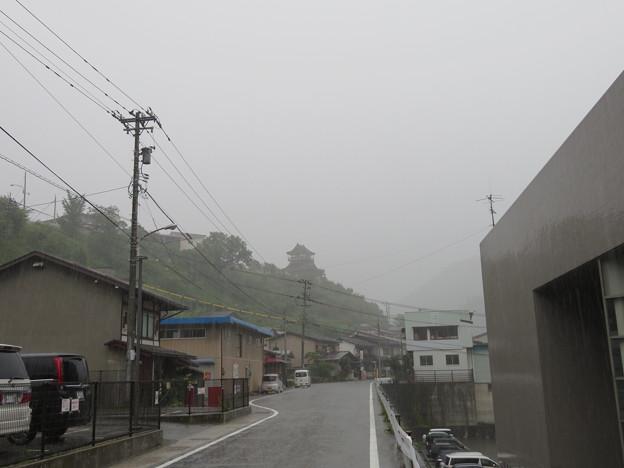 神岡城(飛騨市)北麓
