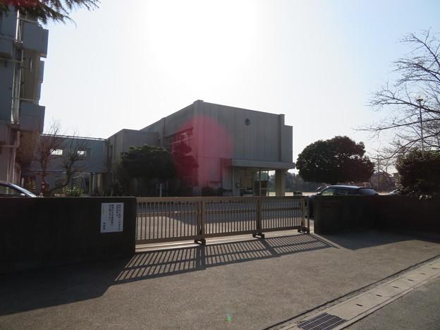 写真: 鶴巻陣屋(市原市立姉崎小学校)