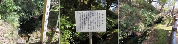 久留里城(君津市)男井戸・女井戸