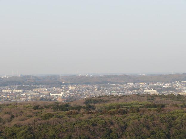 三舟山展望台(君津市)より