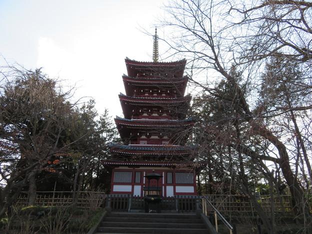 本土寺(松戸市)五重塔