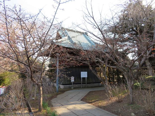 本土寺(松戸市)鐘楼