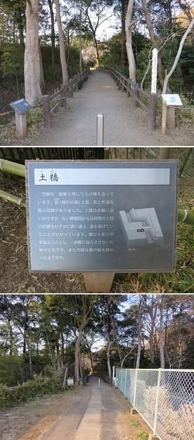 根木内城(松戸市)土橋