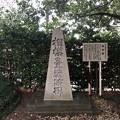相模台城(松戸市。東京聖徳学園)相模台戦跡碑