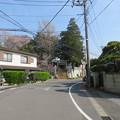 Photos: 18.03.27.矢喰村庚申塚(松戸市)より矢切神社