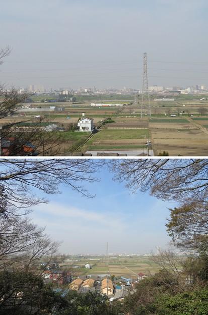 第二次国府台合戦場/野菊苑(松戸市)より
