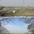 Photos: 第二次国府台合戦場/野菊苑(松戸市)より