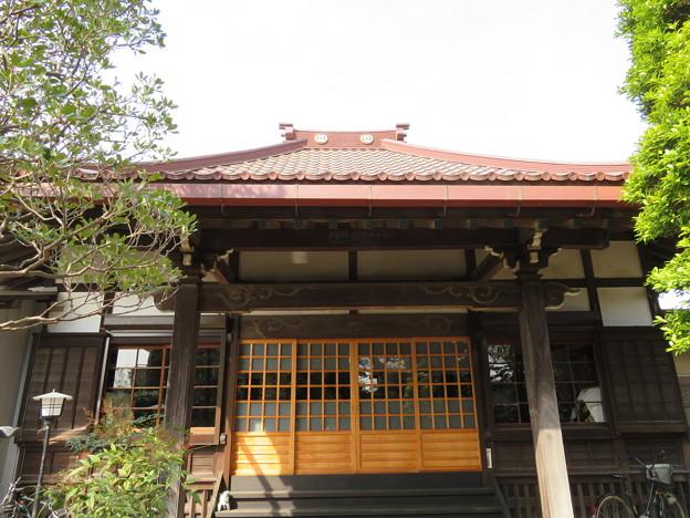 第二次国府台合戦場/西蓮寺(松戸市)本堂