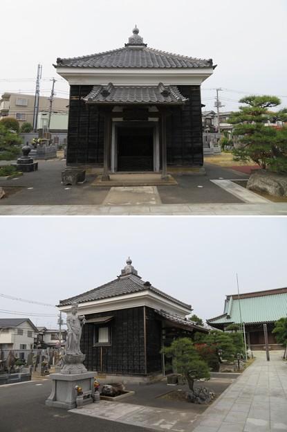 徳願寺(市川市本行徳)経蔵