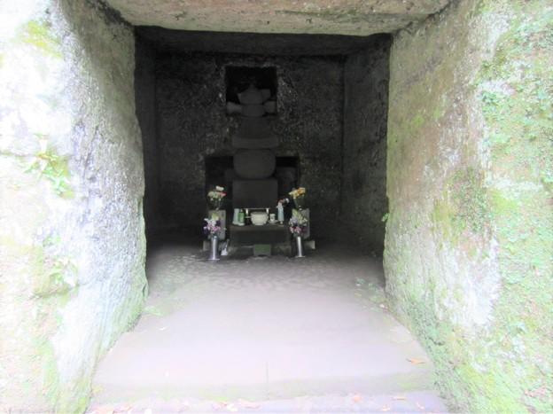 寿福寺(鎌倉市)源実朝墓