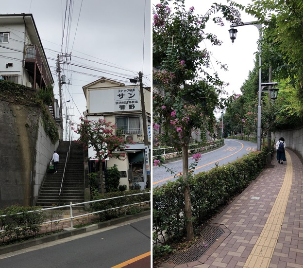 平塚城跡(北区)蝉坂