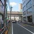 京王線笹塚駅東側ガードより首都高3号線・甲州街道(渋谷区笹塚)