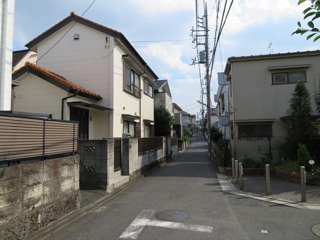 世田谷区北沢住宅街
