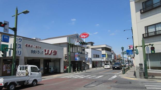本町交差点・ジョナサン秩父店(秩父市)