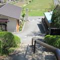 大慈寺(埼玉県横瀬町)参道より