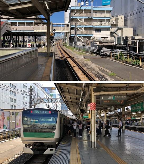 JR池袋駅 埼京線上りホーム(豊島区)