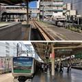 写真: JR池袋駅 埼京線上りホーム(豊島区)