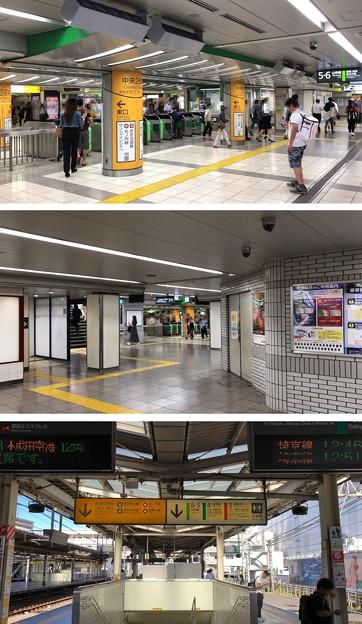 JR池袋駅 中央2改札(豊島区)