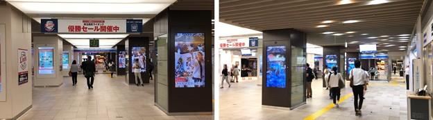 西武池袋線B1階改札(豊島区)