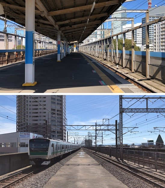 JR埼京線北与野駅(さいたま市中央区)