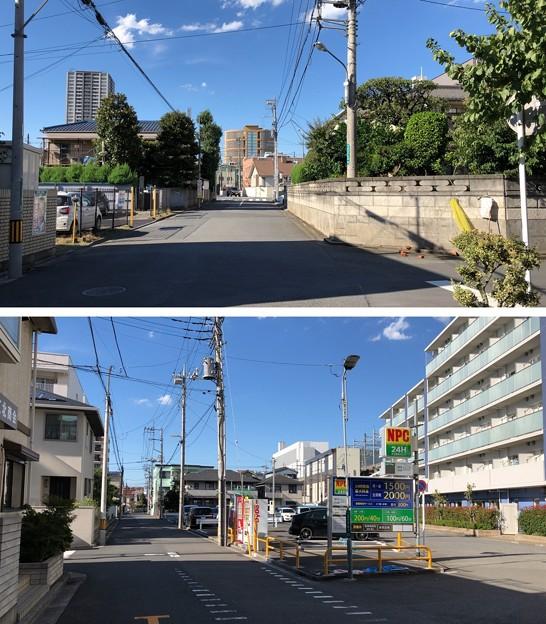淑徳与野高等学校(さいたま市中央区)動線