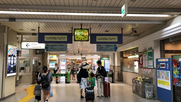 JR戸田公園駅(戸田市)改札内