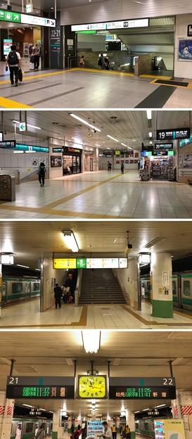 大宮駅北改札~JR埼京線ホーム(さいたま市大宮区)