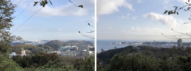 塚山展望デッキ(横須賀市 県立塚山公園)