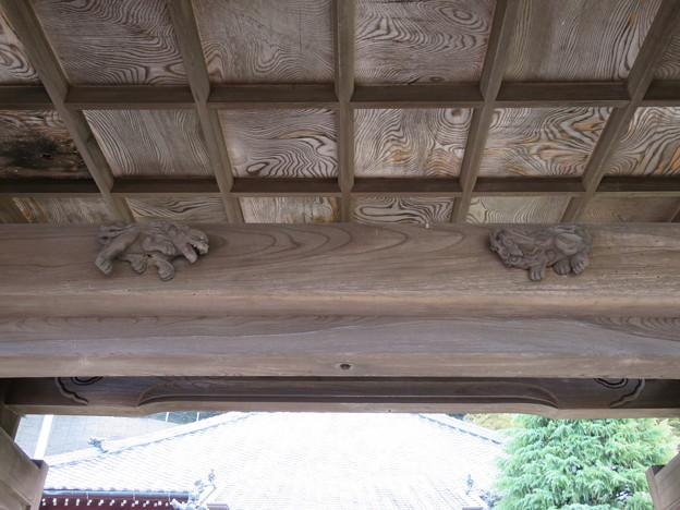 写真: 信楽寺(横須賀市)山門