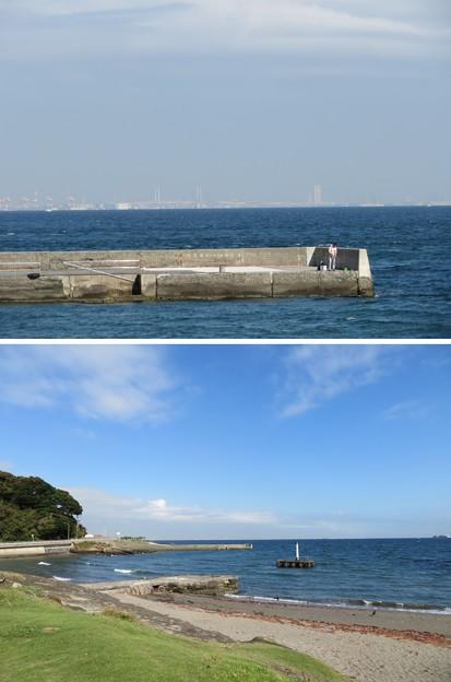 観音崎海水浴場(横須賀市)
