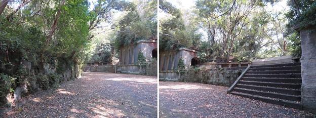 観音崎砲台 北門第一砲台跡(横須賀市)